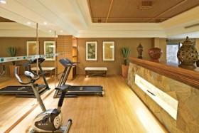 新古典黄色健身房效果图设计