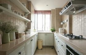 简洁中式风格厨房装修图片