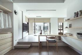 清新米色宜家风格卧室装修设计