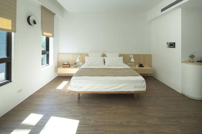 白色清新简约风日系卧室装修设计2016