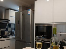 黑色混搭厨房橱柜装修