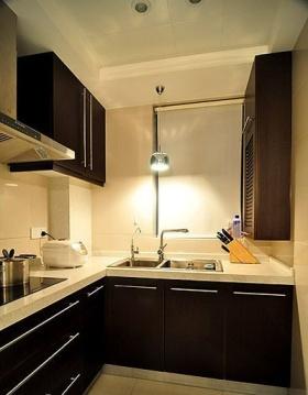 简约风格厨房橱柜装修案例