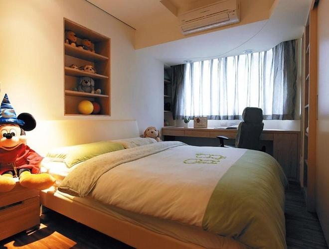 简约温馨可爱卧室装修效果图片
