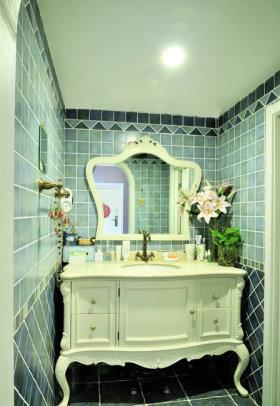 浪漫温馨欧式雅致卫生间装潢设计