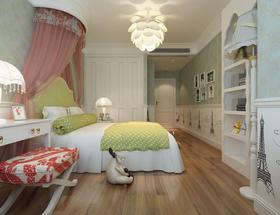 简约温馨儿童房装饰案例