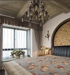 地中海风格素雅米色卧室效果图赏析