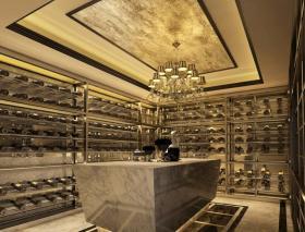 时尚新古典风格酒柜设计欣赏