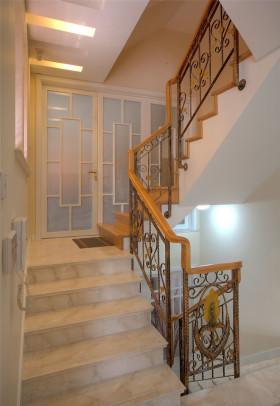 简约风格浅木色楼梯效果图设计