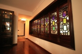 雅致中式风格过道装饰案例