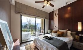 东南亚风格卧室吊顶效果图欣赏