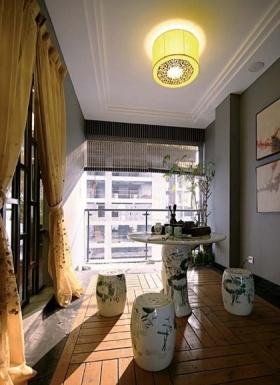 古典中式风格餐厅吊顶设计案例
