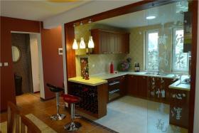 2016原木本色中式风格厨房图片