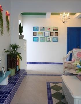 地中海客厅装修效果图片
