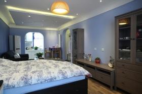 清新地中海卧室吊顶装修图片