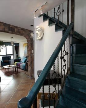 东南亚风格楼梯设计图片