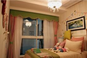 米色清新宜家风儿童房设计图