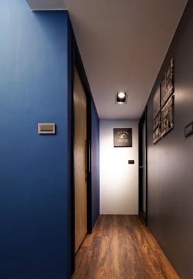 蓝色欧式摩登创意时尚过道图片赏析