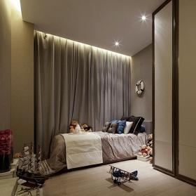 简约趣味温馨儿童房装潢装修案例