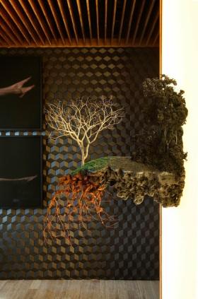 创意自然混搭客厅装饰品装饰图