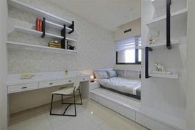 简洁中式卧室榻榻米装修图