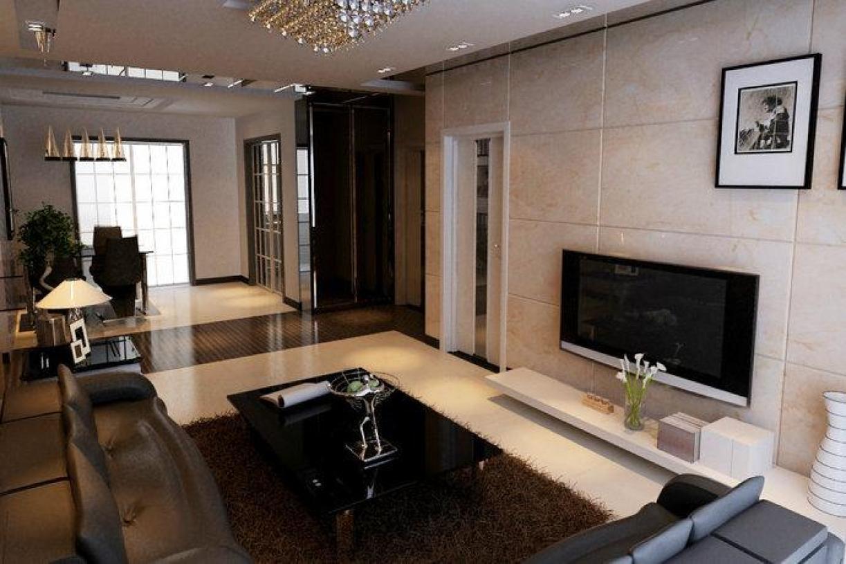 混搭风格客厅装潢设计欣赏