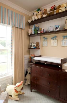 温馨休闲田园风格窗帘设计装潢