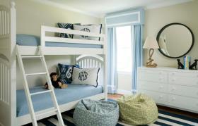 清新绿色欧式风格儿童房装饰图