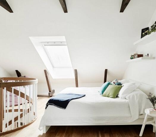 宜家风格舒适白色卧室装修设计