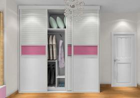 白色混搭风格衣柜设计装潢