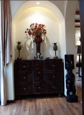 2016精美黑色美式风格收纳柜装潢设计