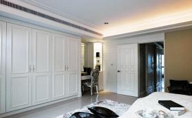 欧式风格卧室衣柜设计装修