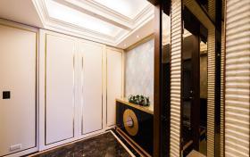 白色雅致大方中式鞋柜设计图片
