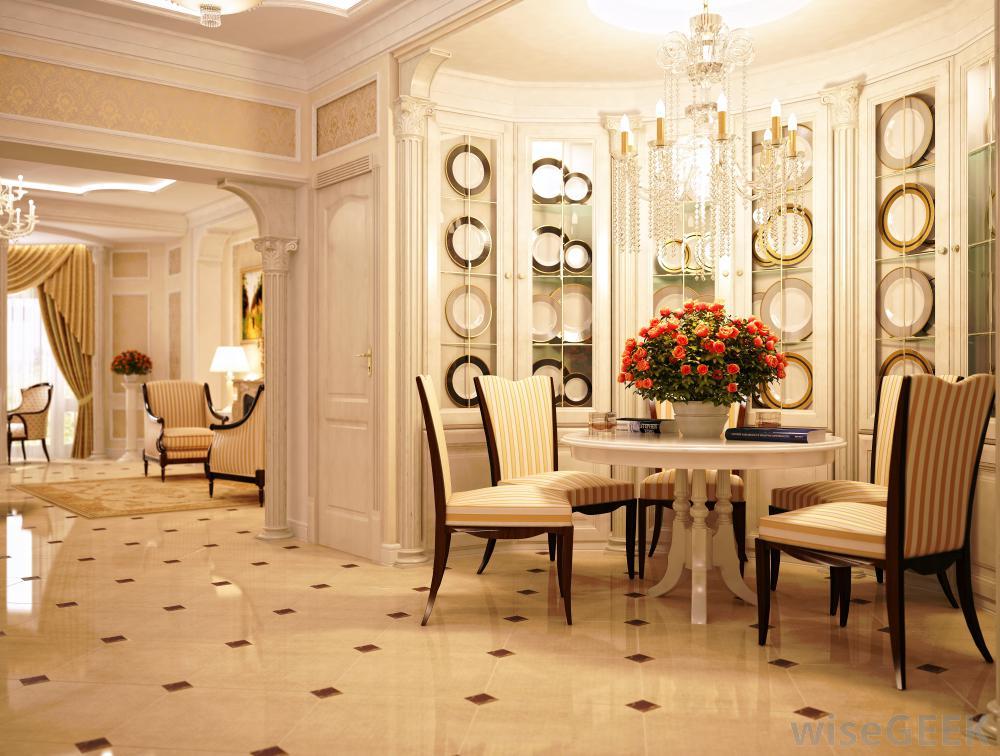 米色轻奢欧式风格客厅美图赏析图片