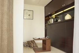 素雅简约风格书房休闲区设计