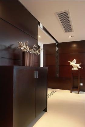 2016东南亚风格鞋柜效果图设计