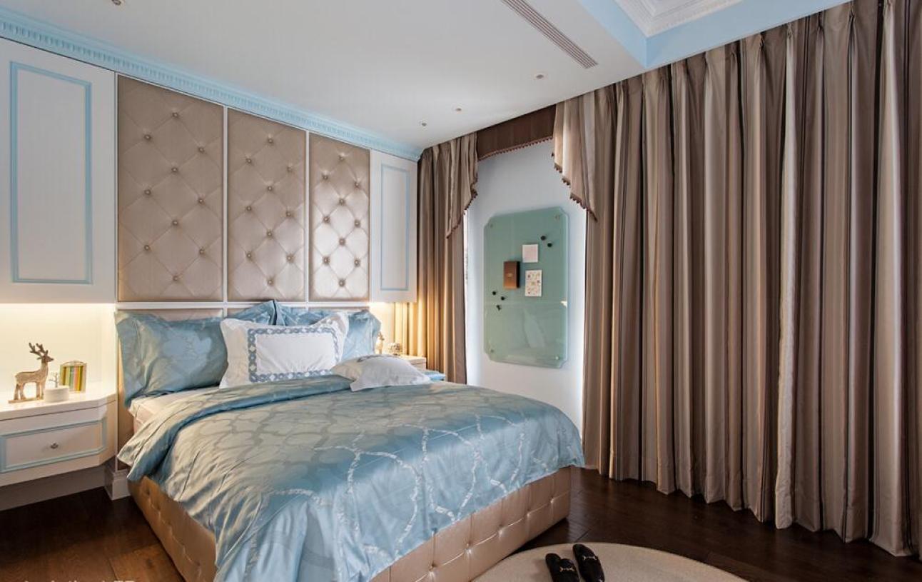 欧式风格卧室装潢设计