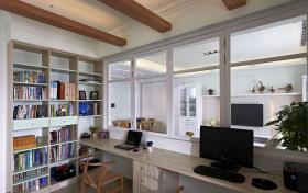 田园休闲书房设计欣赏