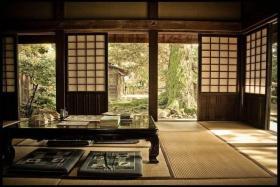宁静新古典中式书房榻榻米装潢