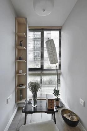 灰色简约风格茶室图片赏析