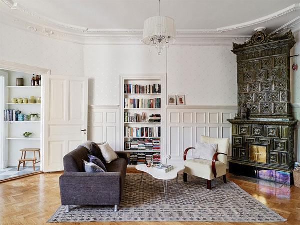 欧式中世纪风格书房装修图