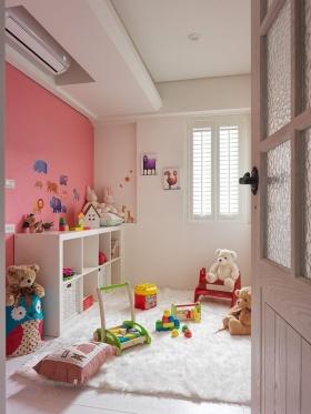 2016地中海粉色儿童房美图