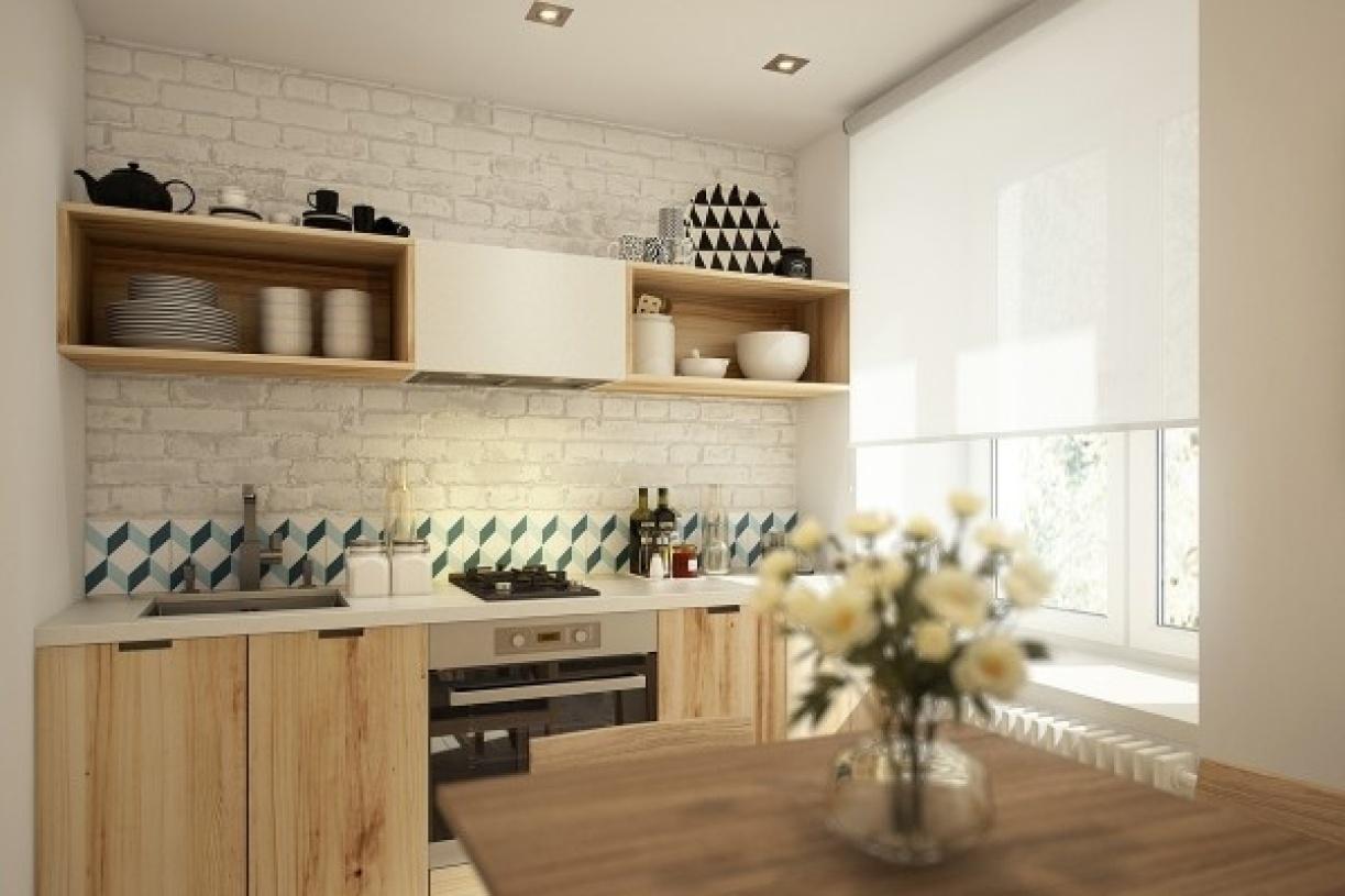 2016米色简约风格厨房设计图