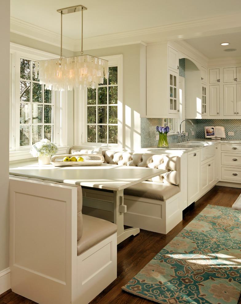米色温馨欧式风格厨房装修效果图