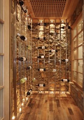 欧式创意酒柜效果图赏析