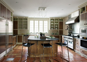 东南亚大气开放式厨房设计欣赏