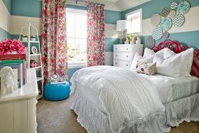 蓝色地中海卧室装修图片欣赏