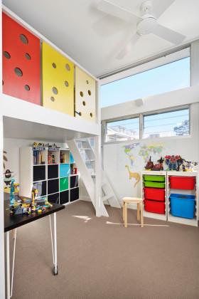 2016简约儿童房吊顶设计案例