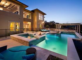 地中海风格泳池装修美图欣赏