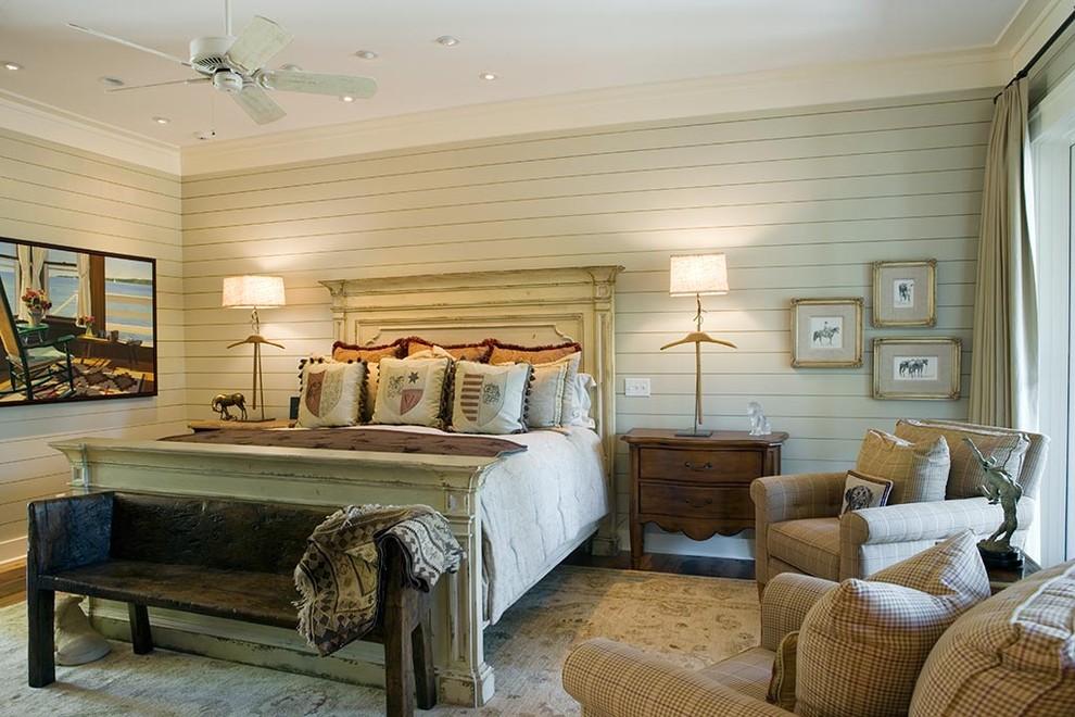 米色清新欧式风格卧室装修布置