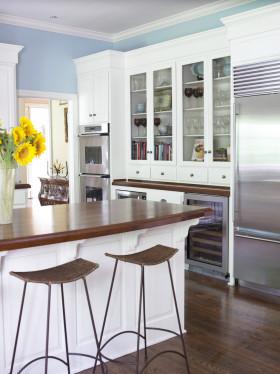 2016现代美式风格厨房橱柜装饰案例